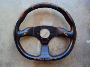 KEY!S Magna Fossa Steering Wheel