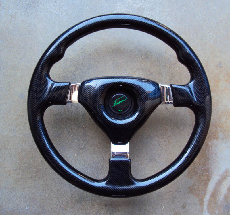 Formula Carbon Fiber Steering Wheel Formula Carbon Fiber Steering Wheel 01