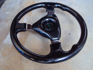 Formula Carbon Fiber Steering Wheel