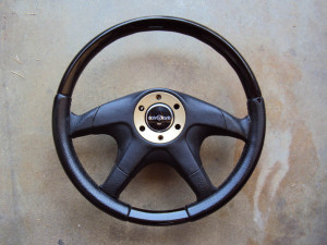 Italvolanti Wood Leather Steering Wheel