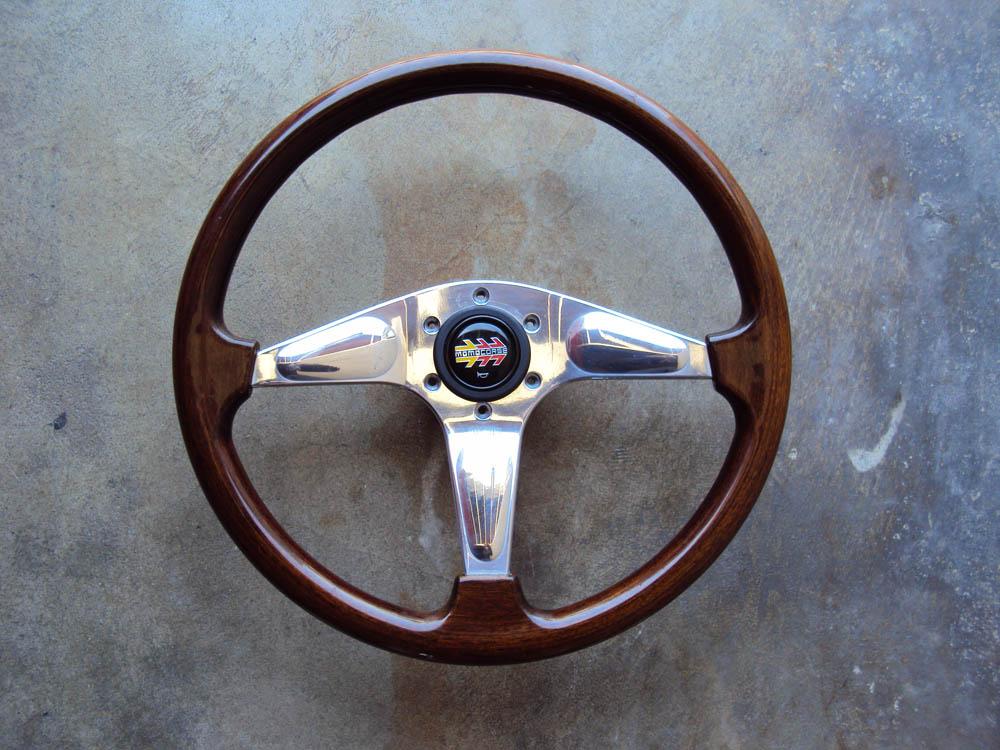 MOMO Teardrop Wood Steering Wheel 365mm