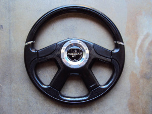Fabulous Noble Carbon Fiber Steering Wheel 360mm