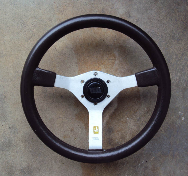 Walkovermodel WM BROWN Steering Wheel 350mm 01