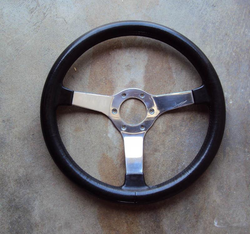 Izumi Polished Steering Wheel 01