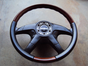 Garson Italvolanti Swarovski Steering Wheel 360mm