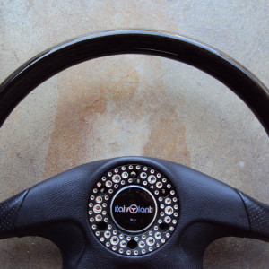 Italvolanti Garson Swarovski Crystal Ring Steering Wheel 04