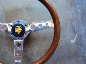 MOMO Super Indy Wood Steering Wheel 345mm