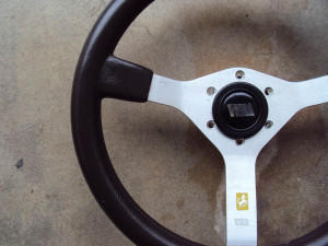 Walkovermodel WM BROWN Steering Wheel 350mm