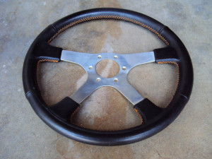 Izumi Old School JDM Steering Wheel