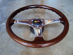MOMO Teardrop Wood Steering Wheel 365mm