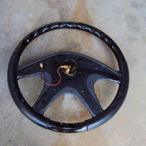 Italvolanti Garson Swarovski Crystal Ring Steering Wheel 12