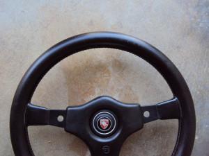 Raid 1 Porsche Steering Wheel