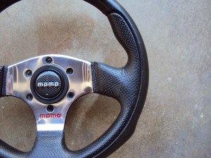 MOMO Team 280mm Steering Wheel