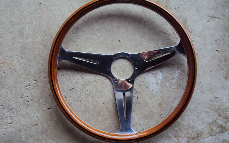 Nardi Classic Steering Wheel Wood 390mm