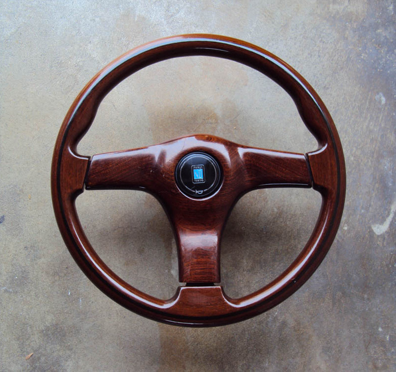 Nardi Gara 3 Type 3 Wood Face Steering Wheel 01