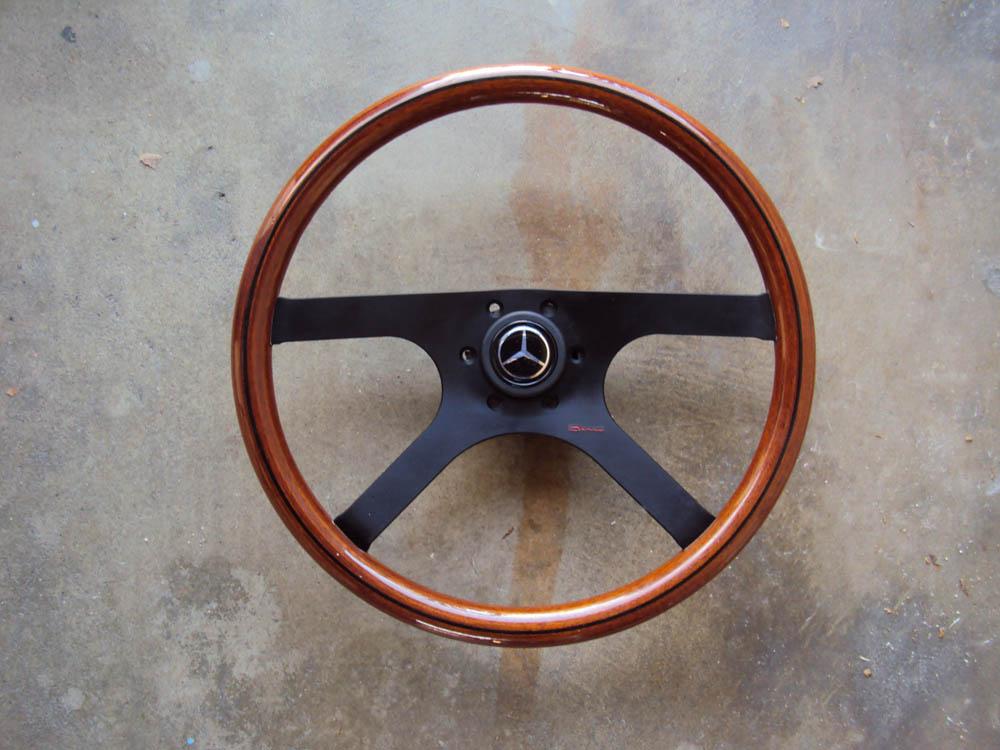 Raid Dino Wood Steering Wheel Mercdes Benz 385mm