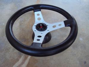Raid Dino 3 Spoke Steering Wheel 350mm