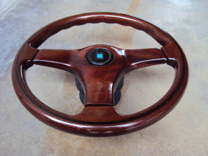 Nardi Gara 3 Type 3 Wood Face Steering Wheel